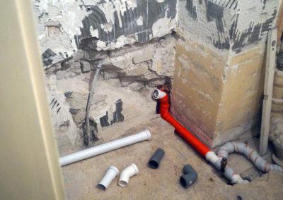 Badezimmer Neugestaltung, zwischendurch