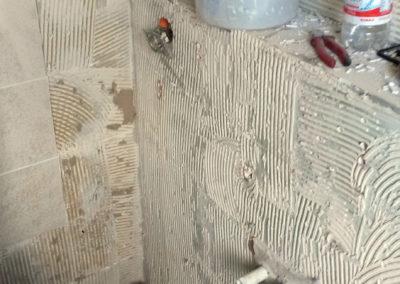 Badezimmer Neugestaltung, vorher