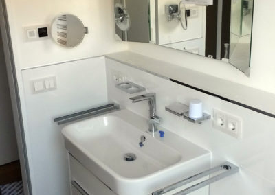 Badezimmer Neugestaltung, finales Ergebnis